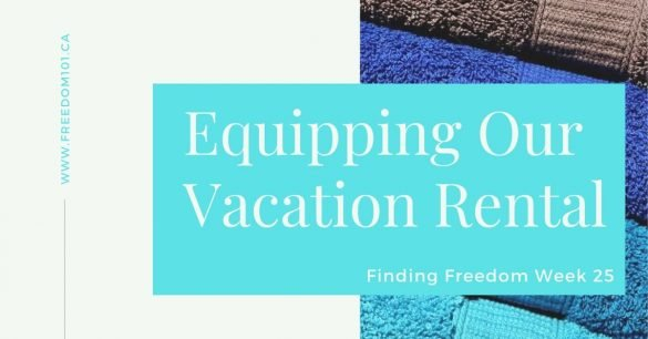 equipping-our-vacation-rental